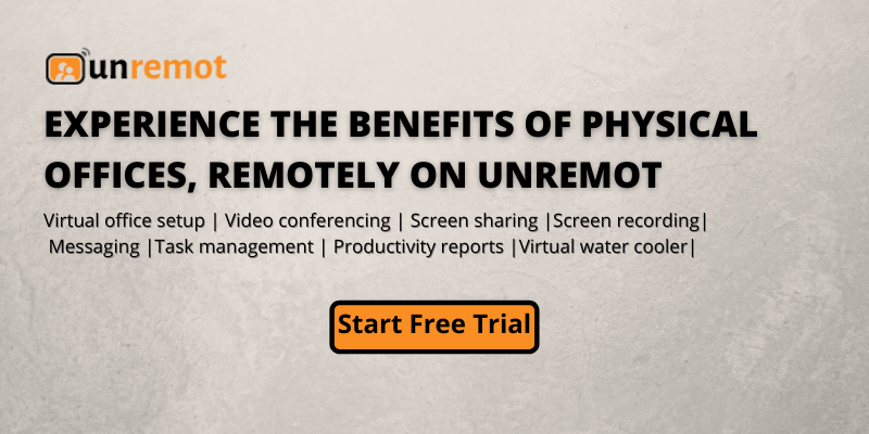 unremot remote work tool