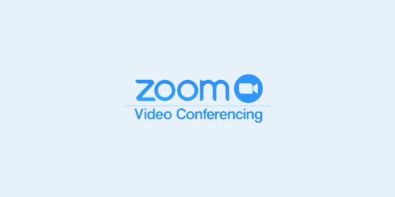 Zoom for screen sharing