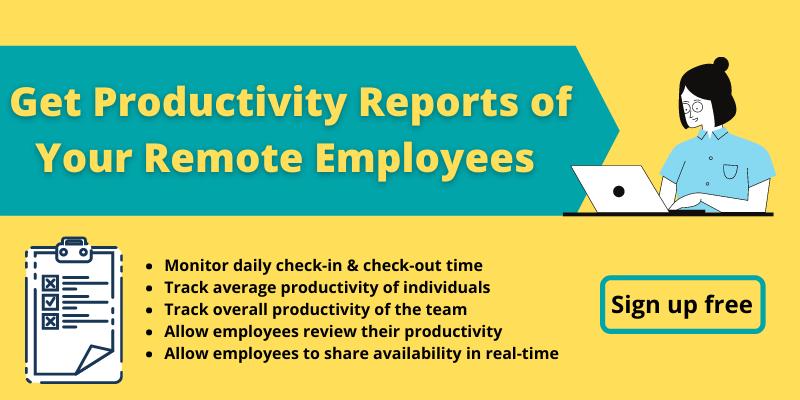 productivity reports