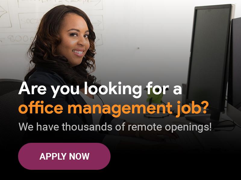 Office management jobs - unremot